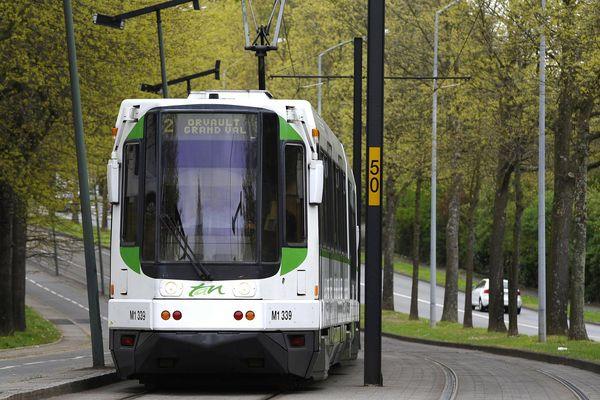 Les deux adolescentes étaient dans le tram de Nantes