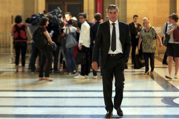 L'ancien ministre du Budget, Jérôme Cahuzac, le 12 septembre 2016 au palais de justice de Paris. (