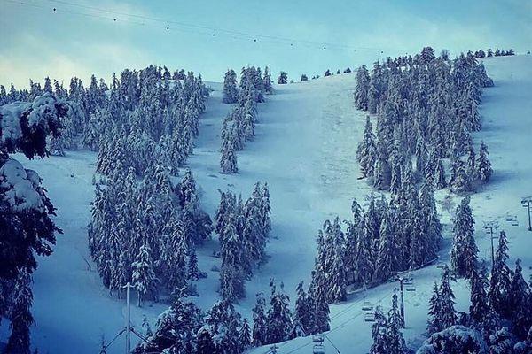 La Colmiane et son domaine skiable.