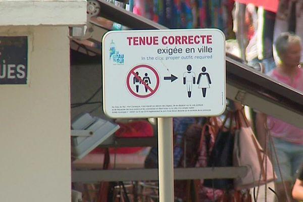 Gard : les torses nus et maillots de bain interdits dans le centre du Grau-du-Roi - 2019.