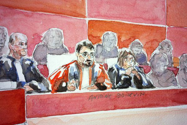 La Cour lors du procès de Tony Meilhon