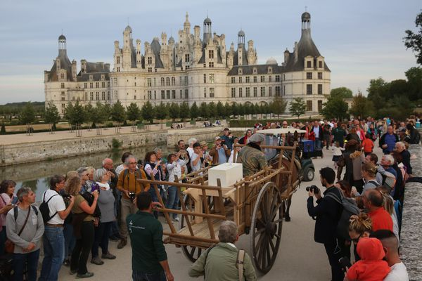Chambord lors de ses 500 ans, le 6 septembre 2019.