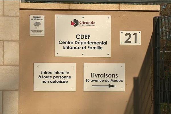 Le Centre Départemental Enfance et Famille est situé à Eysines près de Bordeaux