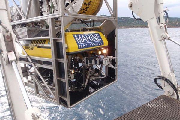 Le robot sous-marin ULISSE peut aller jusque 400 mètres de profondeur.
