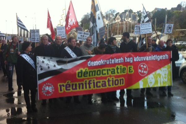 La manifestation pour la réunification de la Bretagne ce samedi après-midi à Morlaix