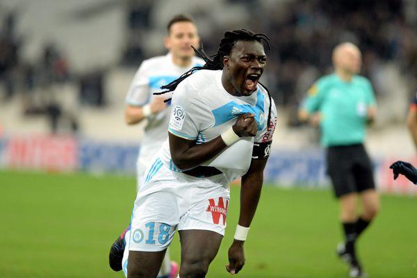 Gomis a inscrit un triplé hier soir au Vélodrome face à Montpellier