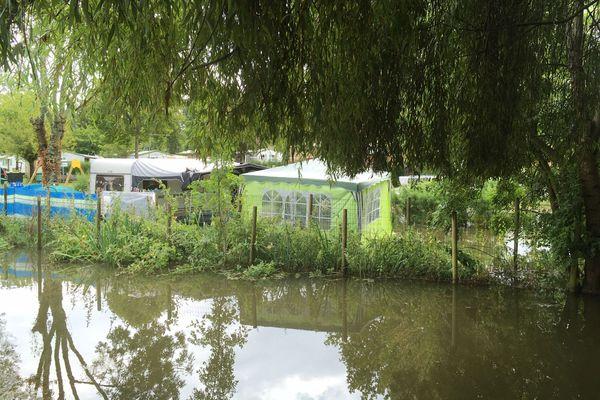 Le camping Le Val Vert à Vaux-sur-Mer a été impacté par les intempéries qui ont touché Royan et ses alentours dans la nuit du 12 au 13 août 2020.