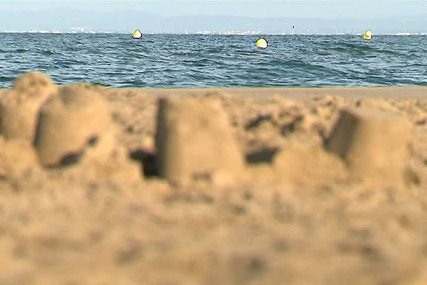 Le Grau-du-Roi (Gard) - la plage de Port-Camargue - 2017.