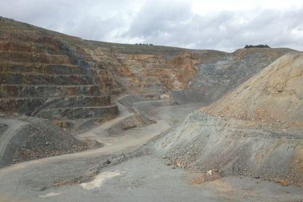 Mine d'or de Salsigne (Aude).