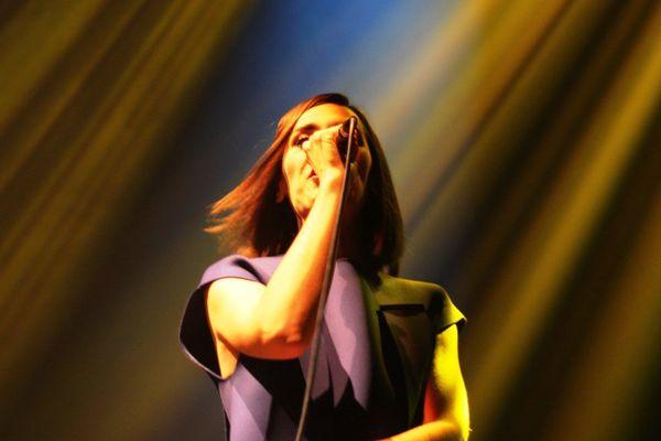 Yelle hier soir sur la scène de Stereolux