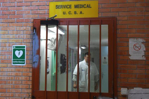 A la maison d'arrêt de Perpignan, le personnel déplore l'absence de masques de protection et le non respect du confinement pour les détenus (photo mai 2019)