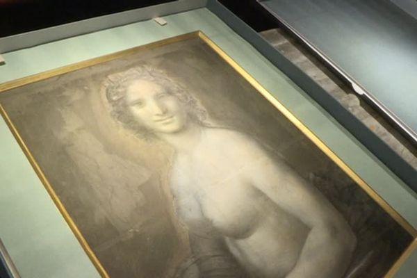 Les tests scientifiques sur le dessin ont permis de déterminer que la Joconde Nue a bien été réalisée dans l'atelier du célèbre peintre italien