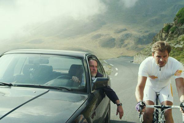 "Clovis Cornillac dans le film ""la Grande Boucle."""