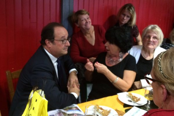 François Hollande à Rouen
