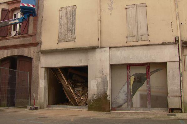 Un mur porteur entre deux maisons à Gaillac se serait effondré entraînant la chute du plancher, heureusement sans faire de victime