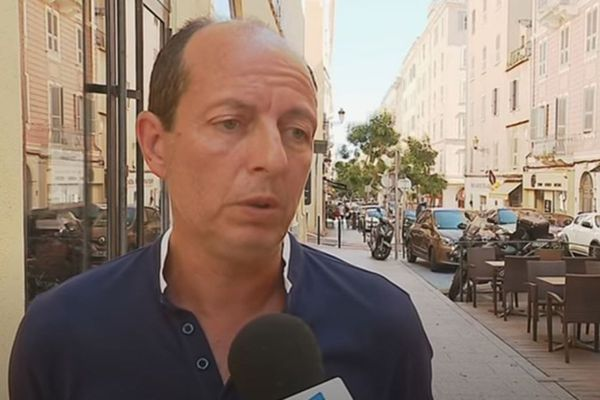 ILLUSTRATION. Paul-Félix Benedetti, leader de Core in Fronte.