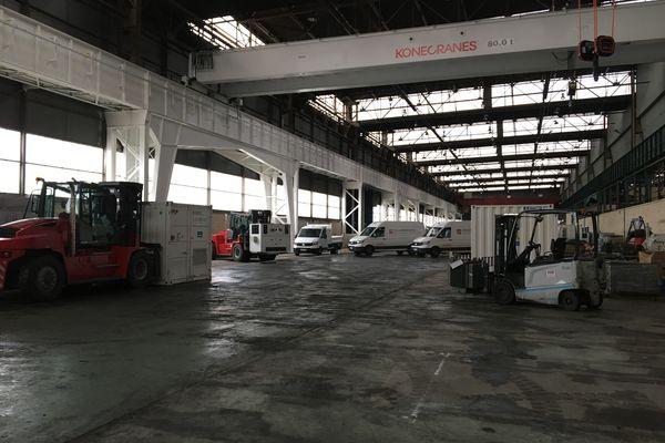 Le site de Drekan à Beautor, ancien lieu de l'usine NLMK.