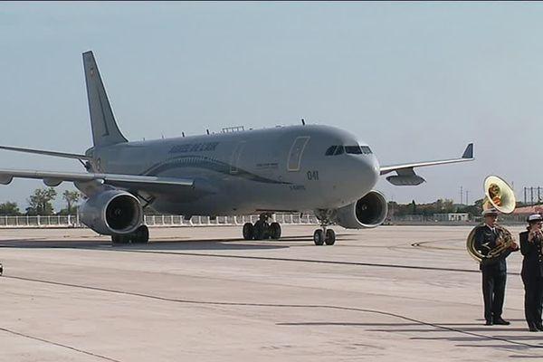 l'A330 Phénix sur le tarmac d'Istres