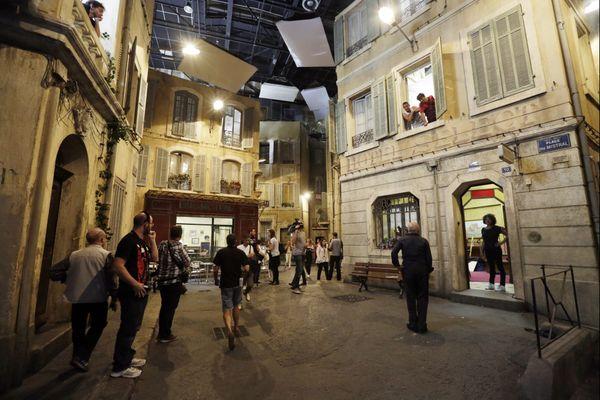 """Les studios de """"Plus belle la vie"""" : place du Mistral"""