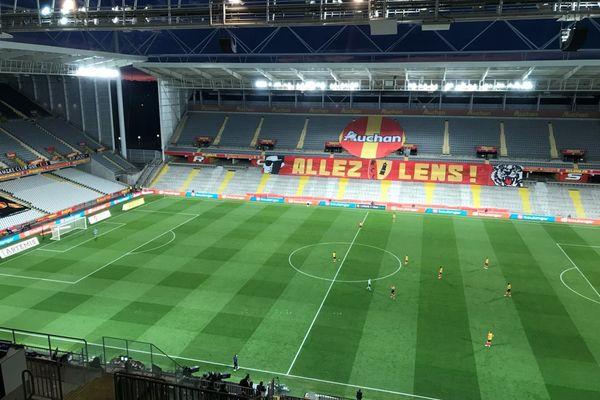 Un derby Lens-Lille qui s'est joué sans public.