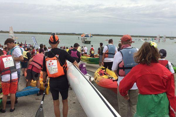 800 embarcations pour remonter la Seudre entre La Tremblade et L'Eguille-sur-Seudre ce dimanche 3 septembre.