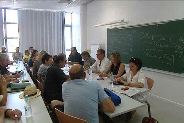 Le Front de Gauche réuni à Corte, le 18 juillet