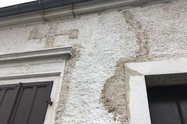 Maison fissurée. Rosbrück