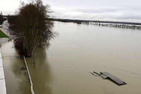 6% de la surface de Bourgogne-Franche-Comté est classée en zone inondable.