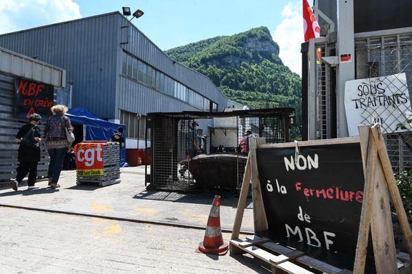 Le tribunal de commerce de Dijon avait prononcé la liquidation judiciaire de la fonderie MBF de Saint-Claude (Jura) le 22 juin.