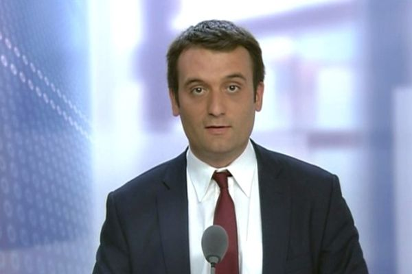 Florian Philippot, vice-président du Front national