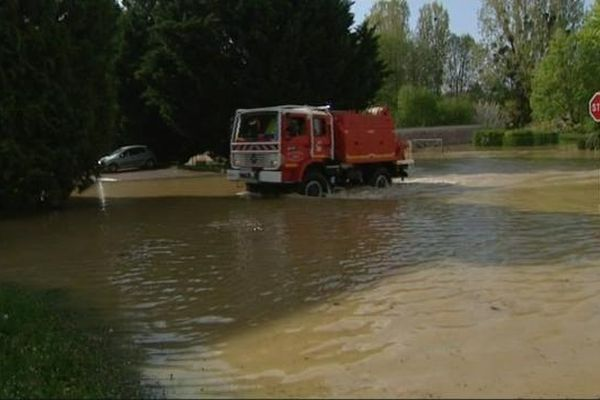 Les pompiers sont toujours à pied d'oeuvre en Côte d'Or et dans l'Yonne