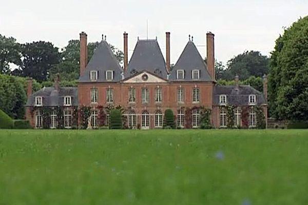 Le château de Mesnil-Geoffroy à Ermenouville.