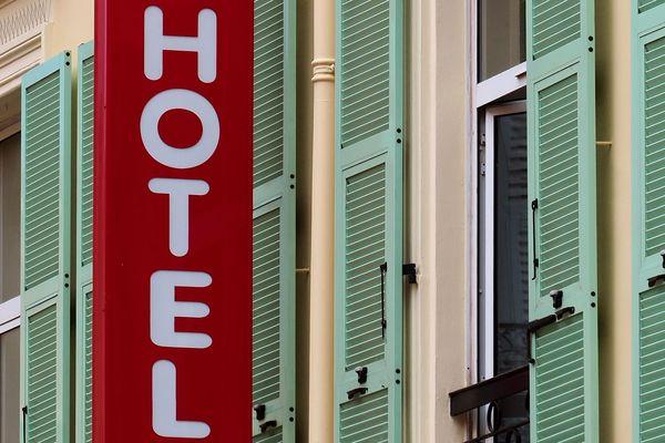 Un hôtel à Menton (photo d'illustration)