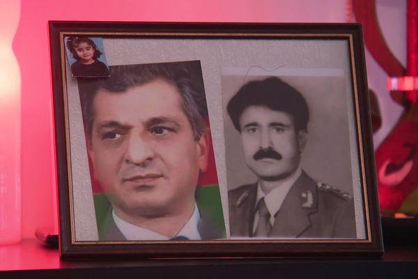 Najibullah a été commandant dans l'armée afghane avant d'être menacé par les Talibans