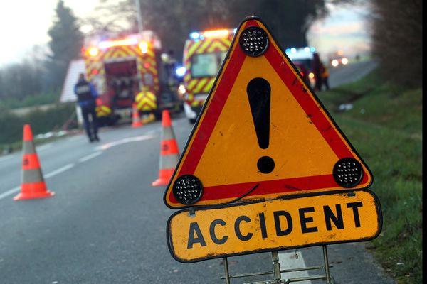 Illustration. L'accident de la route a eu lieu, ce samedi 10 octobre vers 19 heures, sur la D11.