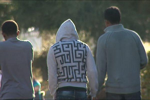 Ces jeunes migrants sont arrivés à Luchon (31) début novembre.