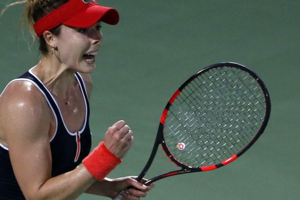 Pour Cornet, c'est une victoire de prestige face à la finaliste 2014 de Roland-Garros