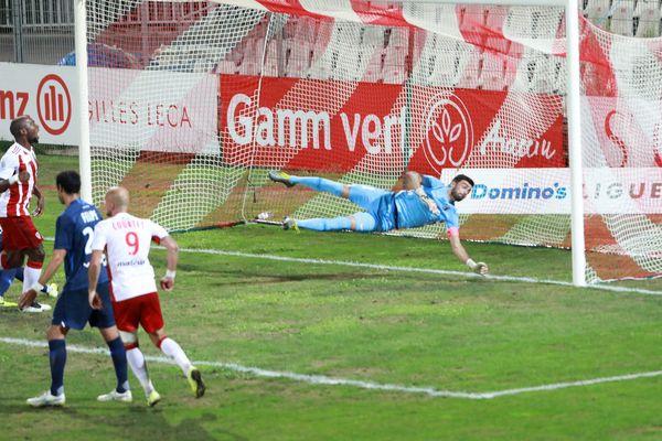 Vendredi 23 août, dans le cadre de la 5e journée de Ligue 2, Choplin marque l'unique but de la rencontre, contre le Paris FC, grâce à une tête à la 57e.