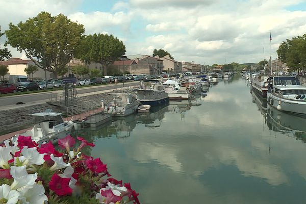 Le port de Beaucaire - 20 août 2020