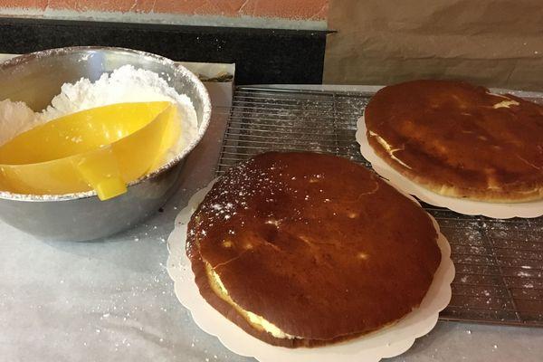 La galette beurrée toute fraîche sortie de la Boulangerie Maes à Malo-les-Bains