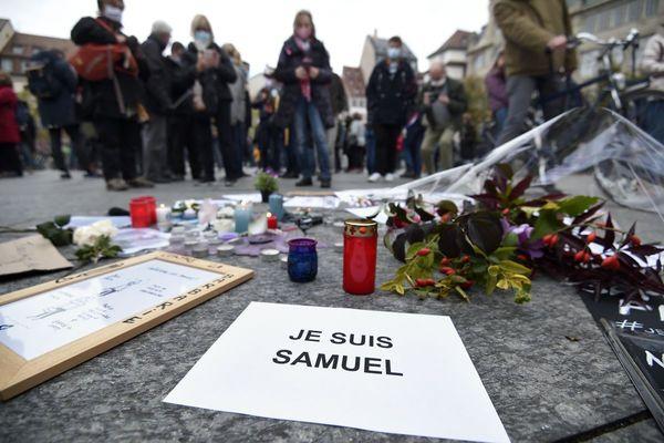 Un hommage national sera rendu à Samuel Paty mercredi 21 octobre