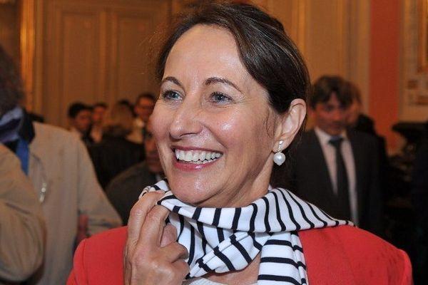 Ségolène Royal, ministre de l'Ecologie en préfecture de Poitiers - 03/04/2014