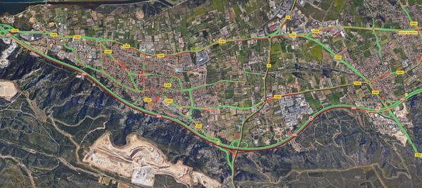Circulation très difficile sur l'A55 entre Châteauneuf-les-Martigues et Gignac-la-Nerthe