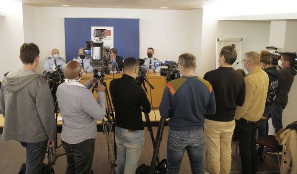 """""""Ils avaient baptisé leur action, """"opération Lima"""", dit François Pérain lors d'une conférence de presse à Nancy."""