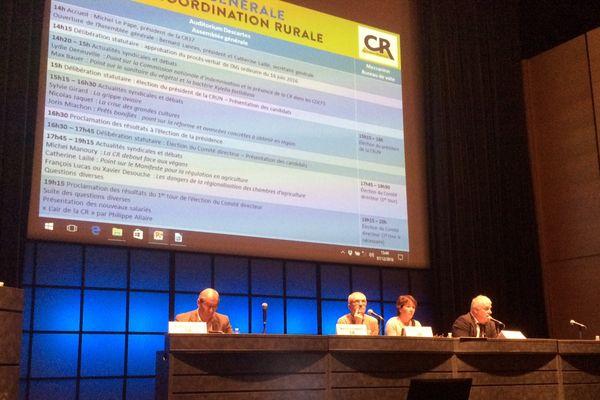Le 23e Congrès national de la Coordination rurale se tient ce jeudi 8 décembre, à Tours.