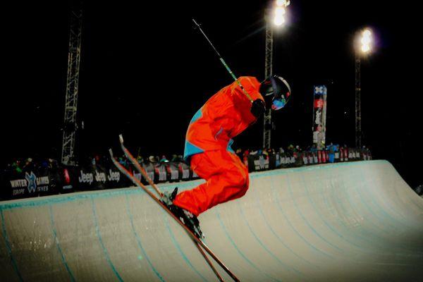 L'épreuve ski SuperPipe est un must des X Games