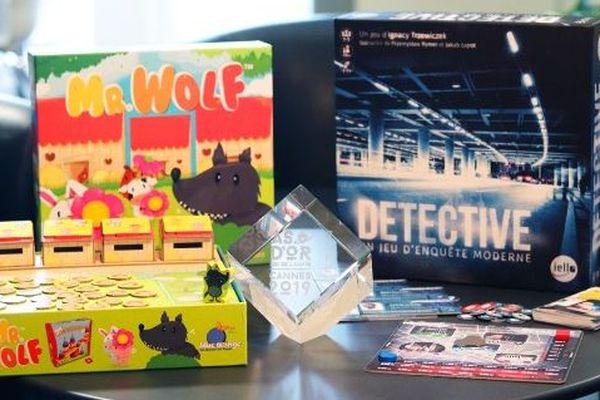 Mr. Wolf édité par Blue Orange et Detective édité par Iello, également Lorrain, ont chacun remporté un As d'or à Cannes le 21 février 2019.