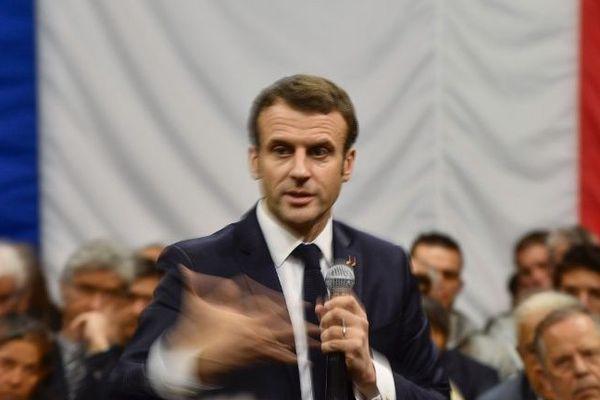 Emmanuel Macron était attendu en Corse le 19 mars dans le cadre du grand débat national.