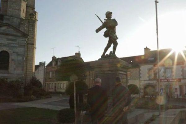 Le monument aux morts de Cléguerec