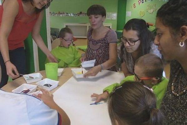 Un centre de loisirs ouvert aux enfants valides et handicapés : c'est une première à Belfort.